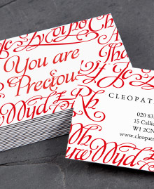 Business Card designs - You Are Beautiful