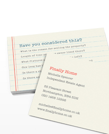 Preview image of Business Card design 'Homebuyer Checklist'