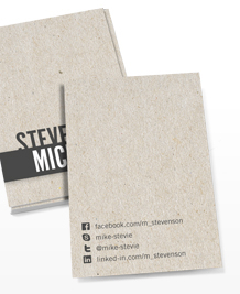 Business Card designs - Talking texture