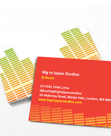 Designs de Cartes de Visite - Big in Japan
