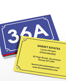 Preview image of Business Card design 'House Numbers'