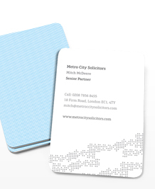 Preview image of Business Card design 'Totally Textured'