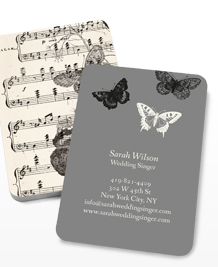 Preview image of Business Card design 'Natural Notes'