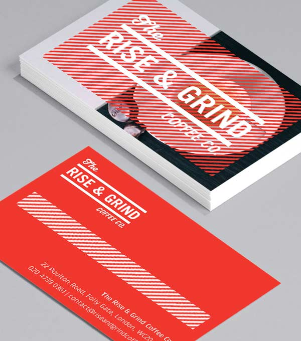 Business Card designs - Rise and Grind