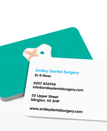Preview image of Business Card design 'Happy Teeth'