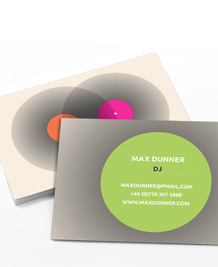 Preview image of Business Card design 'Mix it up'