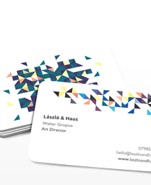 Preview image of Business Card design 'Triangulate'