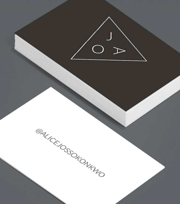 Business Card designs - What's the angle?