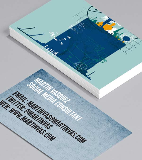 Business Card designs - Chris Keegan Business Cards