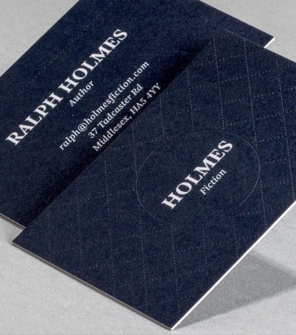 business card designs tailored to you - Letterpress Business Cards