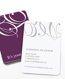 Preview image of Business Card design 'The Big Day'