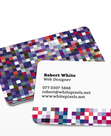 Preview image of Business Card design 'What do you see?'
