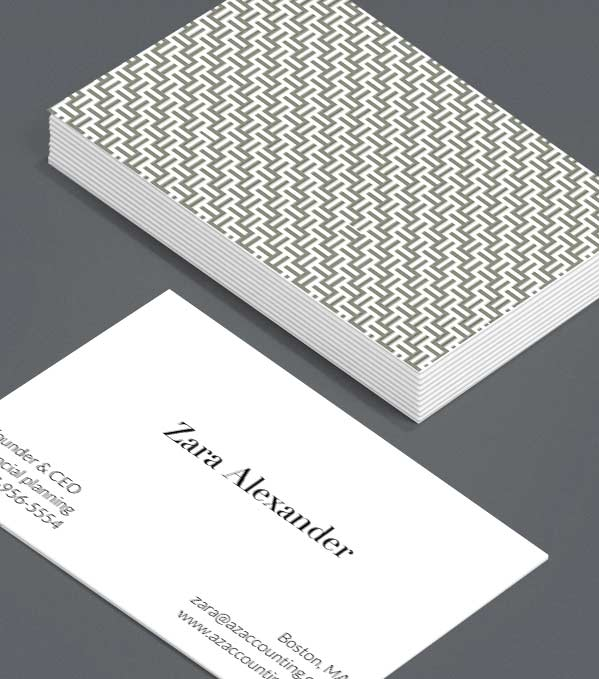 Business Card designs - Criss-cross