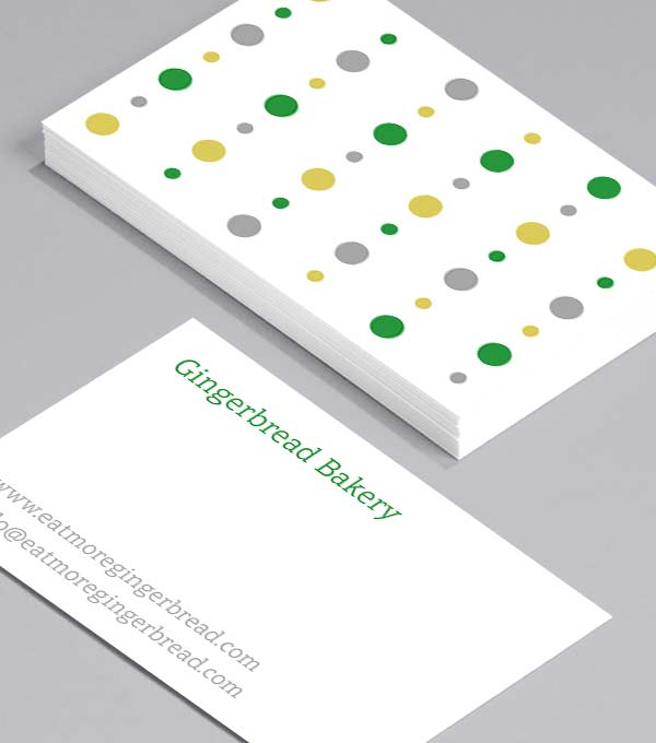 Business Card designs - Bauble. Bead. Bauble.