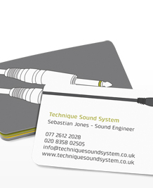 Preview image of Business Card design 'Studio Time'