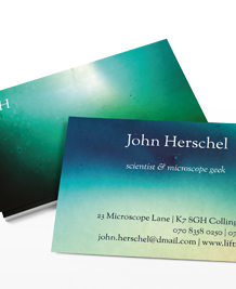 Preview image of Business Card design 'Fathomless'