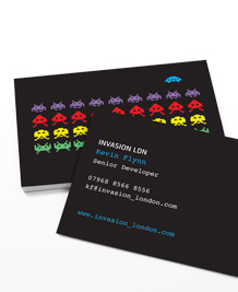 Preview image of Business Card design 'Aliens'