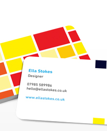 Preview image of Business Card design 'Big Pixels'