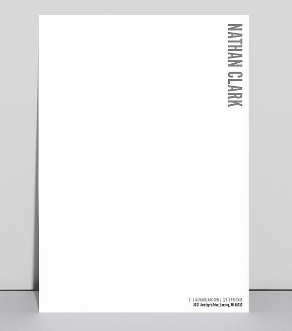 Amato Design per carta intestata | MOO (Italia) HH01