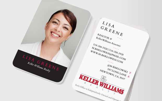 Gallery For Keller Williams Real Estate Business Cards