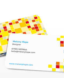 Preview image of Business Card design 'Little Pixels'