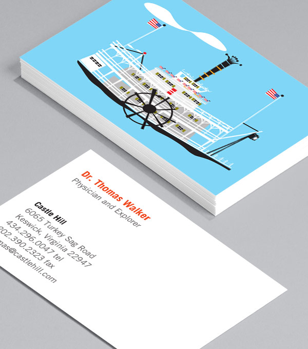 Business Card designs - Ships Ahoy!