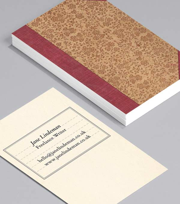 Business Card designs - Beautiful Notebooks