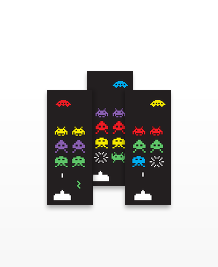Preview image of MiniCard design 'Aliens'