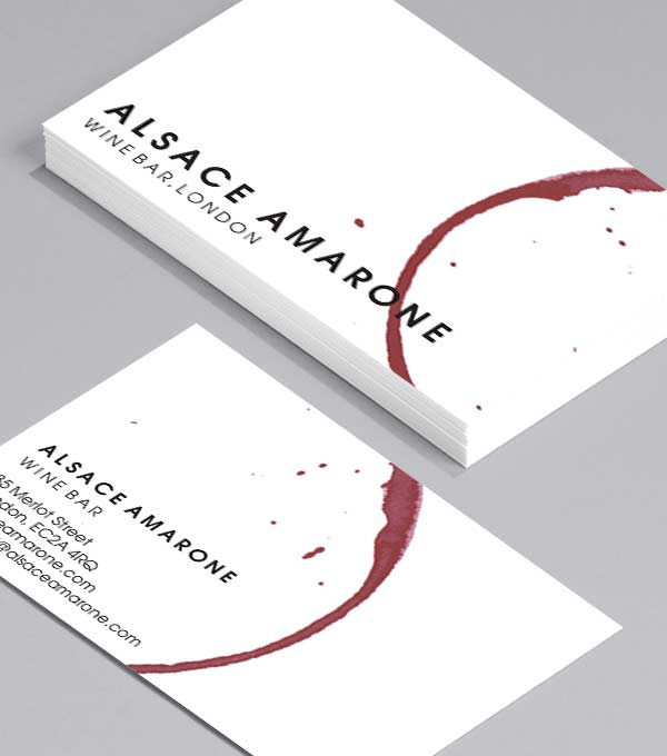 Business Card designs - Alsace