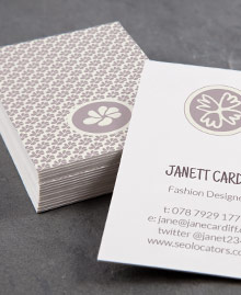 Business Card designs - Fashionable Wedding