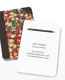 Preview image of Business Card design 'Notebooks, Vol.2'
