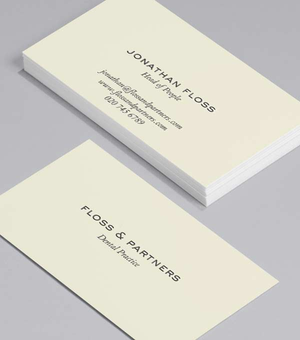best practice - Best Font For Business Cards