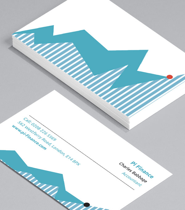 Business Card designs - Hard Graph