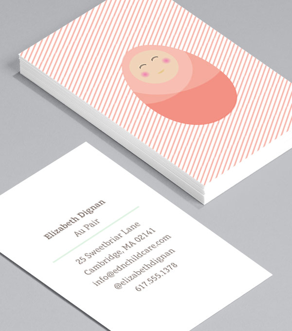 Business Card designs - Tucked In