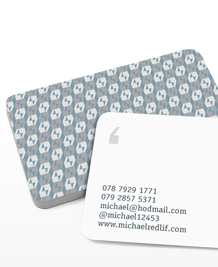 Preview image of Business Card design 'Pattern Recognition'