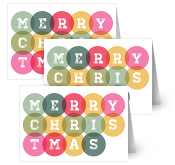 Stockists of Christmas Greeting Cards, 25 qty