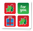 Festive Cheer Stickers