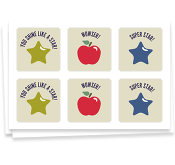 Well Done! apples & stars