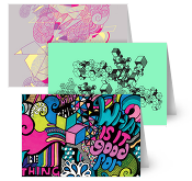 Kate Moross Greeting Cards
