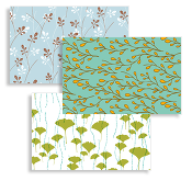 Lara Cameron Patterns Business Cards