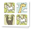 Our Animal Friends, StickerBook