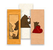 Frieda's Friendly Bears, MiniCards