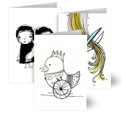 Pau Morgan Greeting Cards