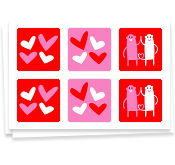 Young Love, Stickers