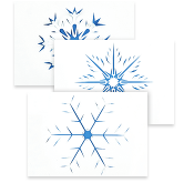Crafty snowflakes