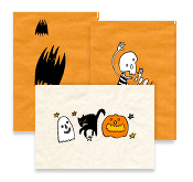 Frieda's Halloween, Postcards