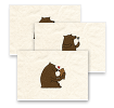 Frieda's Friendly Bears, Postcards