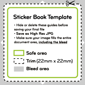 file sticker template
