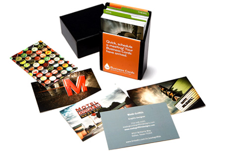 Start designing your Business Cards