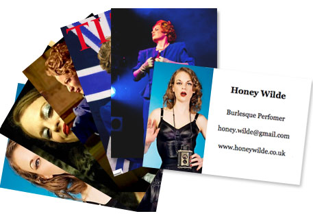 Burlesque star Honey Wilde talks personal marketing